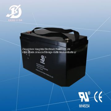 Kanglida 12v100ah maintenance free deep cycle solar battery
