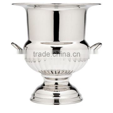 large nickel plated wine buckets for sale