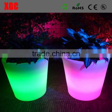 High quality lighting tall decorative indoor flower pots GD101