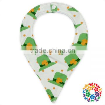 Wholesale Various Patterns Cheap Triangle Comic Baby Bandana Drool Bibs