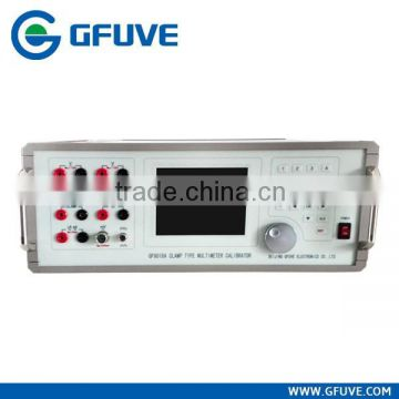Digital test and calibration clamp meter calibrator