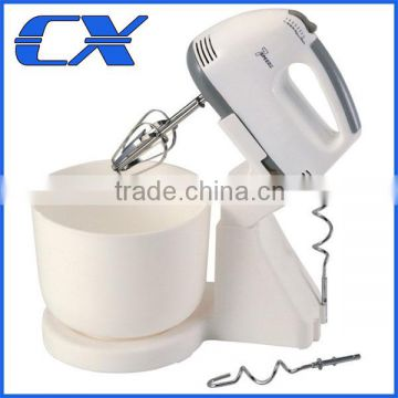 Wholesale 200W Best hand food mixer with plastic bowl For Kitchen