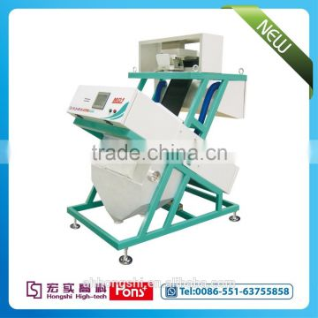 Bangladesh red lentil CCD color sorter machine from China, Hons+ company