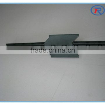 High Quality Low Price Metal T post also named studded T post for American market