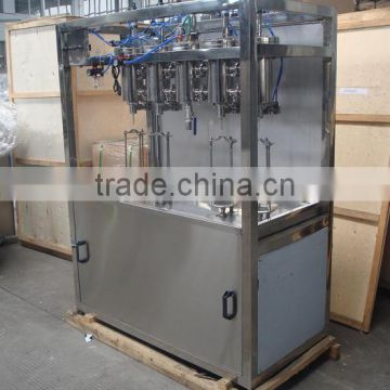 Semi-auto carbonated 500Ml drink washing filling capping machine