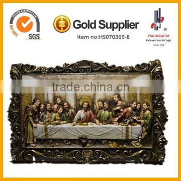 Religious Statues Resin Last Supper Sculpture Christian Gifts