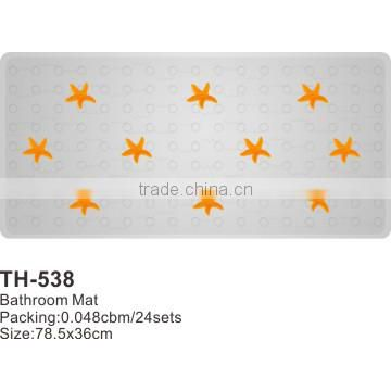 non slip pvc bathroom floor mat