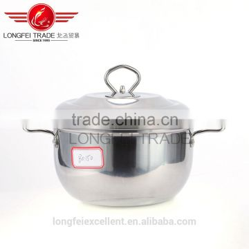 2016 big capacity different size hot sale stainless steel cookware pot sets