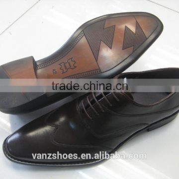 Formal men's leather shoes made in Gunangdong China