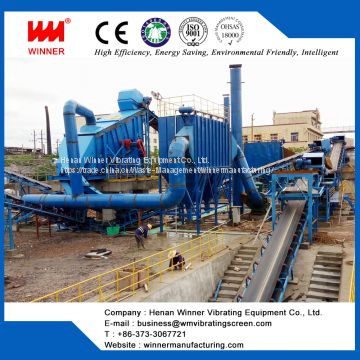 Automatic Construction waste disposal and sorting system