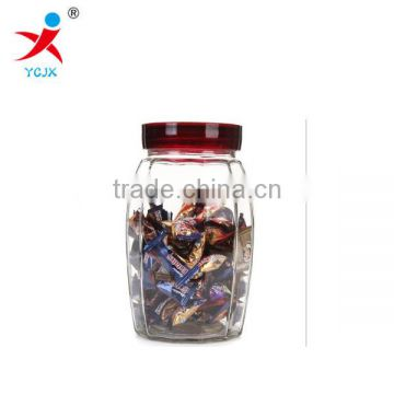 Transparent glass sealed cans More than twelve stare blankly multi-purpose storage bottle coffee specifications