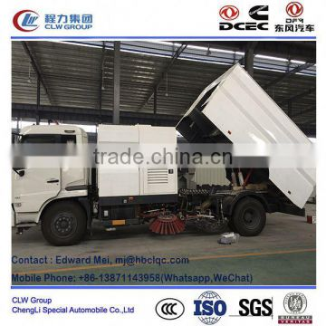 front loader road sweeper /with water washing function