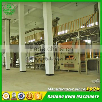 10T Wheat grain cleaning plant for Grain warehouse storage