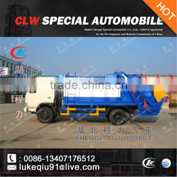 DONGFENG DLK 4*2 Rear Load Garbage Compactor 8m3