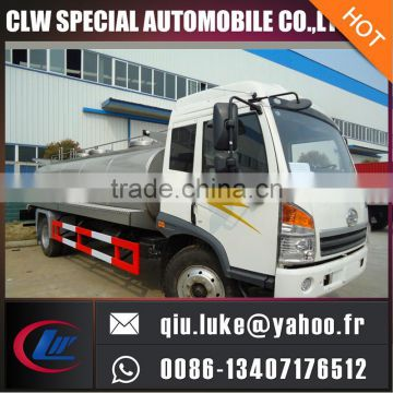 8000 Litres milk transportation storage tank truck