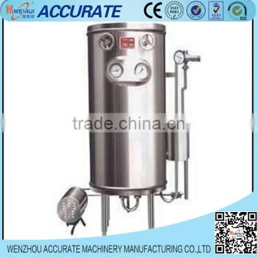 Tubular type manual super high degrees sterilizing machine