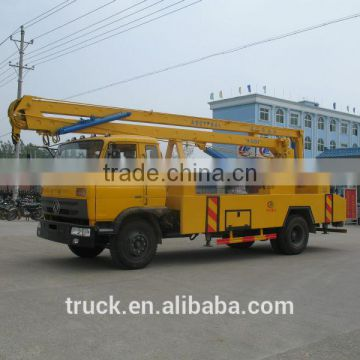 22m high altitude aerial working truck, high lift bucket truck, high lifting platform truck