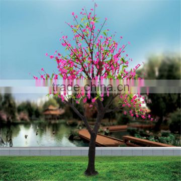 artificial LED lights tree artificial cherry blossom tree artificial purple flower tree