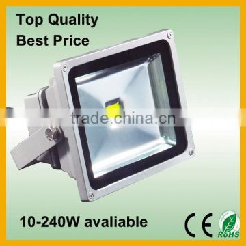 Waterproof 240V 50 watt outdoor purple color led flood light