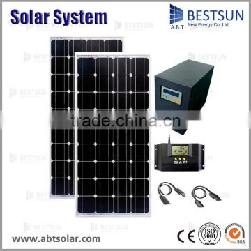 BESTSUN 500w portable homes use solar power system solar power kits solar power generator