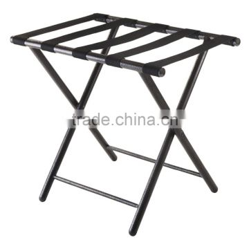 Luggage Rack with Folding Straight Leg