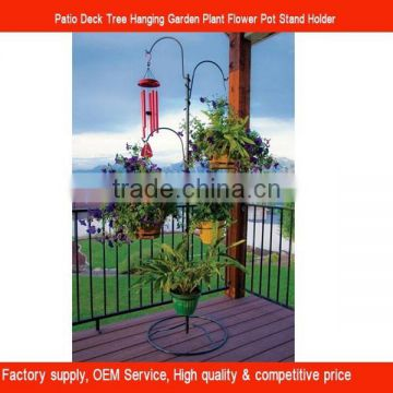 Patio Deck Tree Garden Plant Flower Pot Stand holder