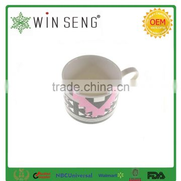 Ceramic porcelain coffee tea mug cup