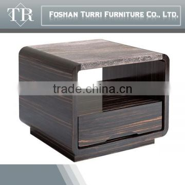 Modern Wooden MDF Base Travertine end table