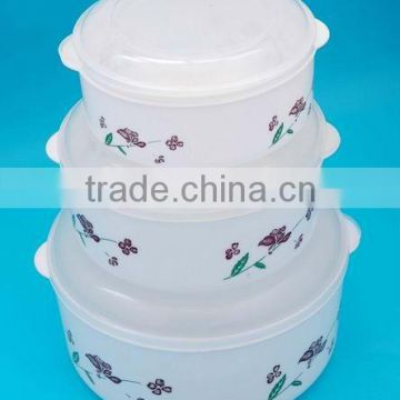 Top quality low price round food container set