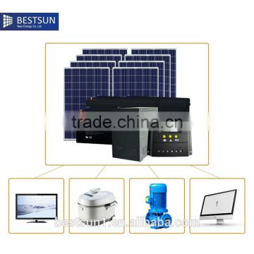 BESTSUN BFS-2000W solar system solar power system home in india with best quality and low price