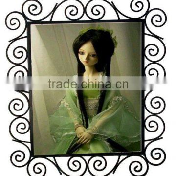 iron wire lace picture frame