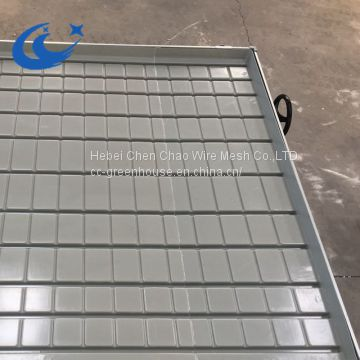 Customized Greenhouse/Agricultural System Table Ebb And Flow Rolling Benches( with gray/white tray)