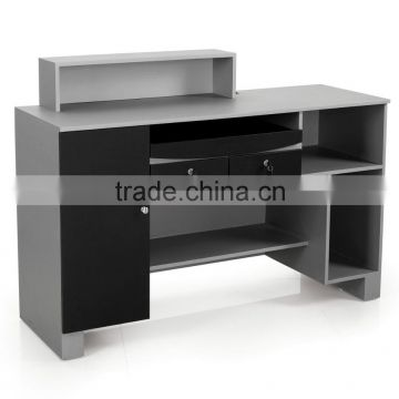 modern office reception desk; high-quality hall reception table