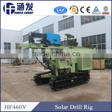 HF460Y Photovoltaic Solar Spiral Pile Rig/Photovoltaic Pile Driver/Mini Mobile Pile Drilling Rig