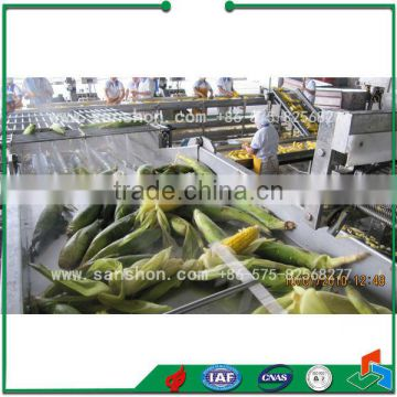 Vegetable Processing Line Soybean Freezing Line