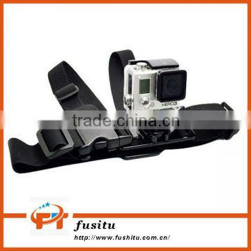 Mini Size Adjustable Belt Strap Junior Chesty with J-hook Bracket & Screw for GoPro Hero 4/3+/3