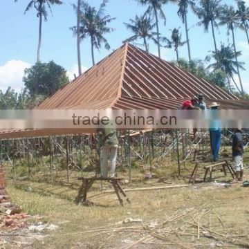 synthetic thatch roof use pavilion decor, artificial thatch roof with high quality