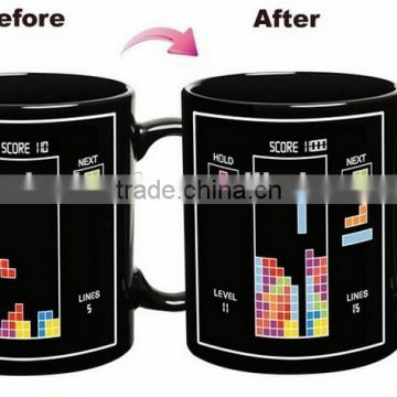 Heat Sensitive 11oz Custom Color Changing magic Mug