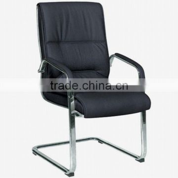 Black pu visitor chair (6007C)