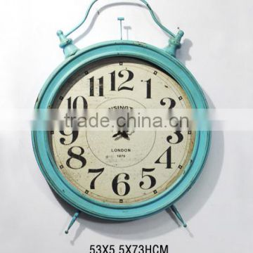 Holiday Promoting Blue Gift Clock