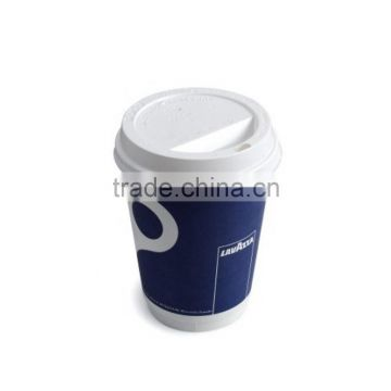 Ripple paper cup diamond paper cup double wall white paper cup