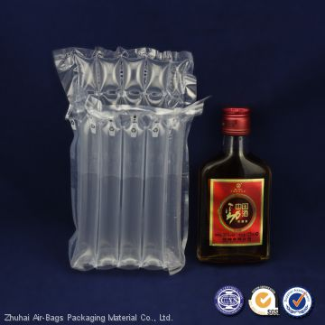 Alibaba China factory air bubble bags cushion inflatable bag for packaging wine bottle protective packing
