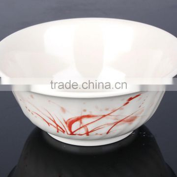 2015 Factory direct wholesale 100% melamine square colored salad bowl, fruit bowl,mixing bowl