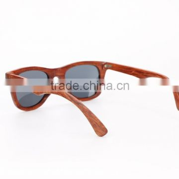2015 Fashion Wooden sunglasses with polarized lens
