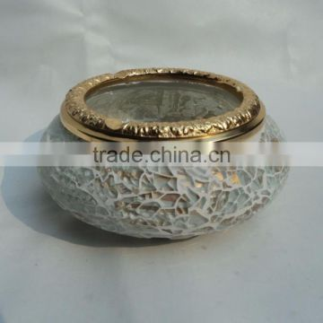 brass antique glass small for wedding