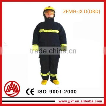 JJXF Safety Fire fighting Gear EN469 / Firefighter Suit / Fireman Clothing / Rescue Clothing