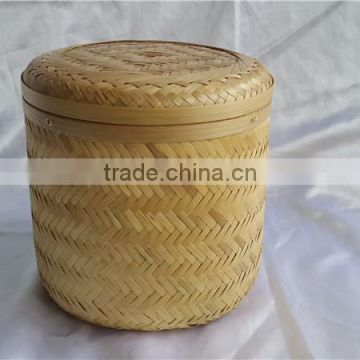 cheapest chinese style New Bamboo weave Casket L in funeral supplier