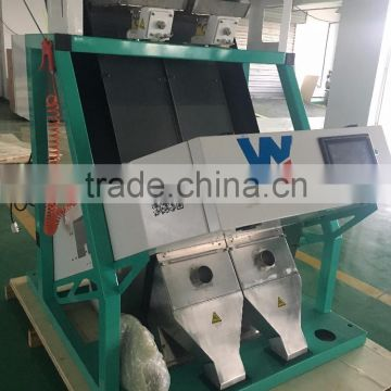 High Resolution and High Capacity salt color sorter machine from Anhui Wenyao