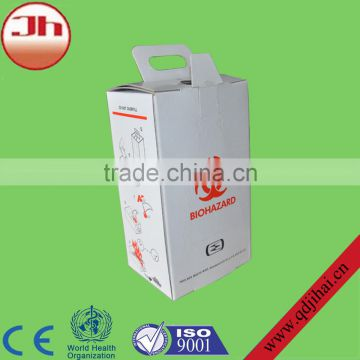 Best selling consumer products medical disconnect needle disposal container