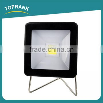 High quality outdoor small angle iron stent square COB 3w led flood light
